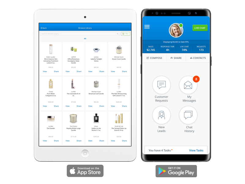 Salesfloor Mobile App